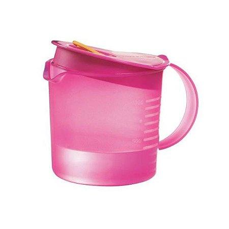 Tupperware Jarra Cristalwave 1 litro Rosa
