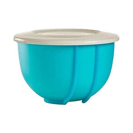 Tupperware Tigela Batedeira Pro Plus 1,5 litro Azul Céu