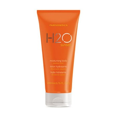 Nutrimetics Loção Hidratante Desodorante Corporal 200ml H20 Sunset