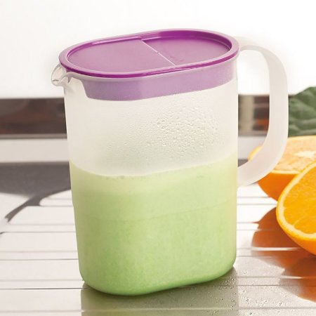 Tupperware Jarra Ideal 1,1 Litro Tampa Lilás