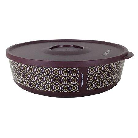 Tupperware Tigela Ilúmina 2,5 litros Bordo