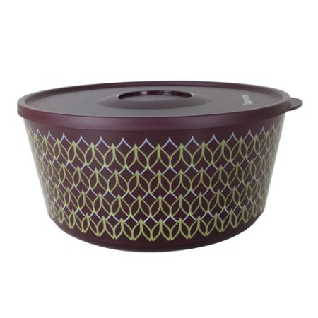 Tupperware Tigela Ilúmina 4,3 litros Bordo