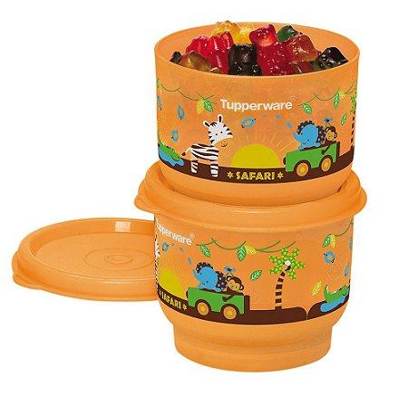 Tupperware Potinho Baby Safari 140ml kit 2 Peças