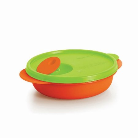 Tupperware Kids Cristalwave 400ml Verde e Laranja