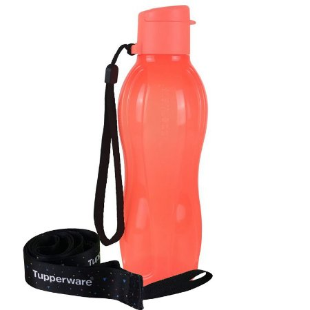 Tupperware Eco Tupper Plus 500ml Laranja Neon + Mega Cordão Eco