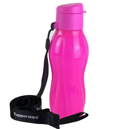Tupperware Eco Tupper Plus 310ml Rosa Neon + Mega Cordão Eco