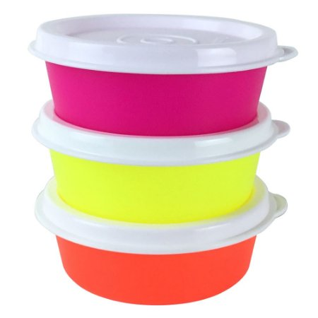 Tupperware Mini Snack Cup 70ml kit 3 Peças