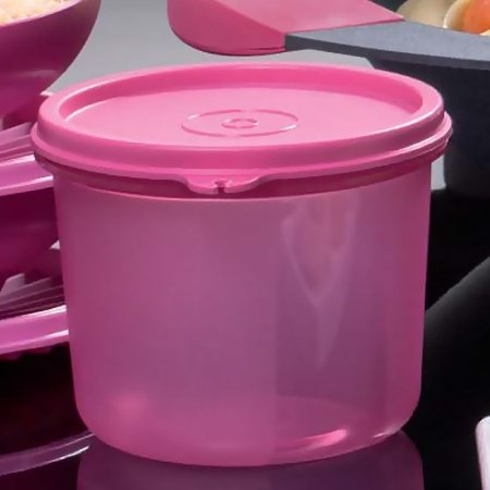 Tupperware Tigela Visual Rosa 550ml