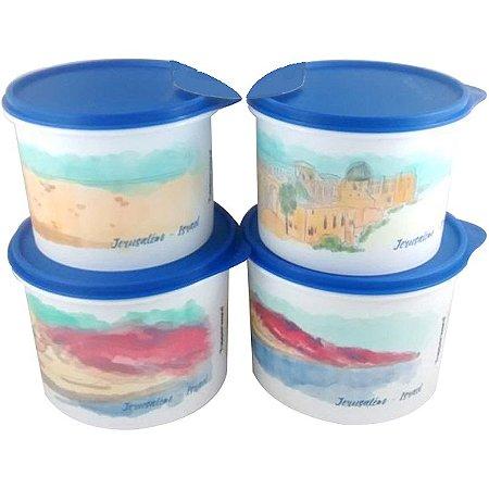 Tupperware Caixa Israel kit 4 peças