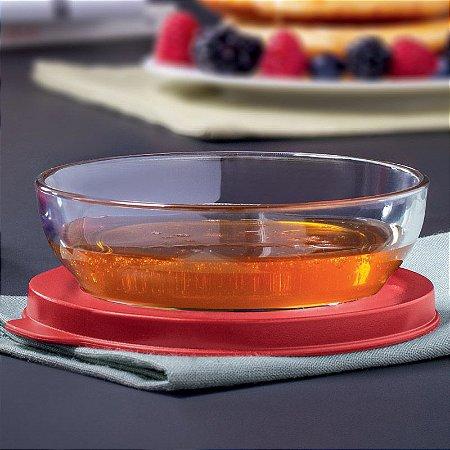 Tupperware Tigela Clear 180ml Vermelha
