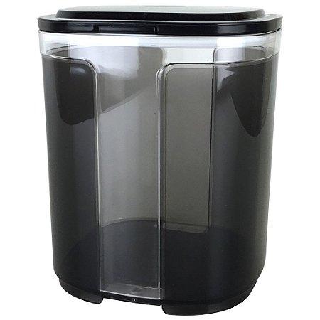 Tupperware Pote Visual 1,5 litro Preto