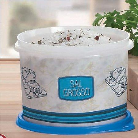 Tupperware Caixa Sal Grosso 1kg Azul