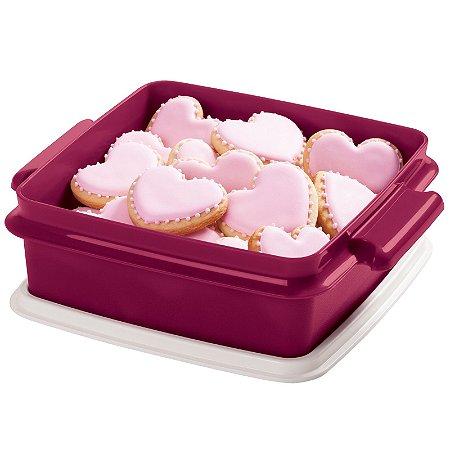 Tupperware Pote 780ml Rosa