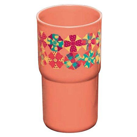 Tupperware Copo Colors Fuxico 350ml