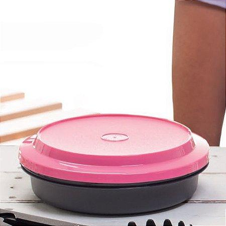Tupperware Travessa Redonda Actualité 500 ml Preta e Rosa