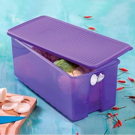 Tupperware Fresh Smart Retangular 3,6 litros Roxo