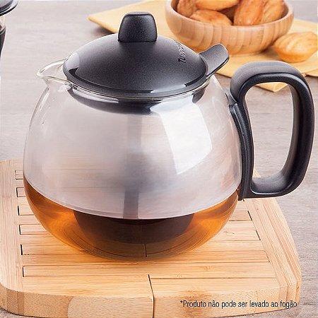 Tupperware Chaleira Teaz Me 1,3 litro Preto para Chá