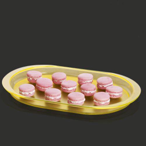 Tupperware Travessa Premier 1,2 litro Policarbonato Amarelo Cristal
