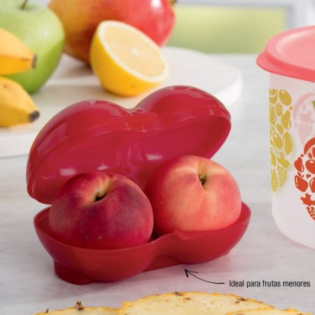 Tupperware Porta Frutas Vermelho