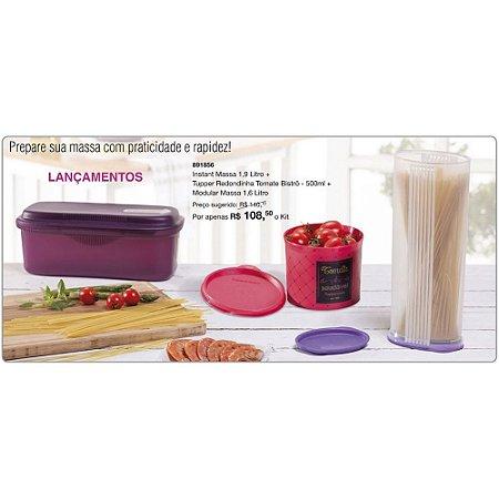Tupperware Kit Macarronada 3 peças