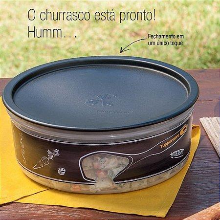 Tupperware Delicatesse 1,75 litro Preto Translúcido Churrasco