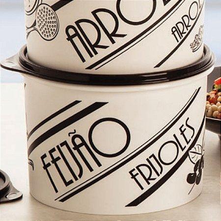 Tupperware Caixa Feijão PB Retrô 2kg