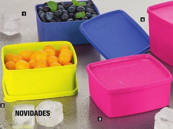 Tupperware Kit Freezer Jeitosinho 500ml 3 peças