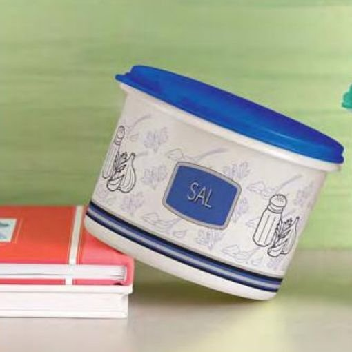 Tupperware Caixa Sal 1kg Azul