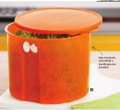 Tupperware Fresh Smart Redondo 4,7 litros Laranja