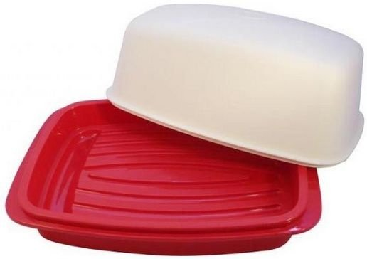 Tupperware Travessa Baixa Actualité 1 litro Vermelha