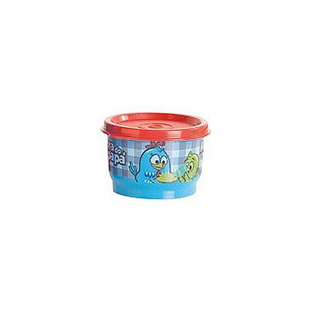 Tupperware Potinho Galinha Pintadinha 100ml Azul Vermelho