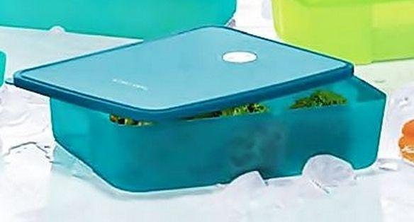 Tupperware Freezertime Peacock 3,1 litros Azul