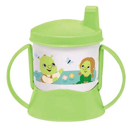 Tupperware Copinho com Bico e Alça Baby Shrek 150ml