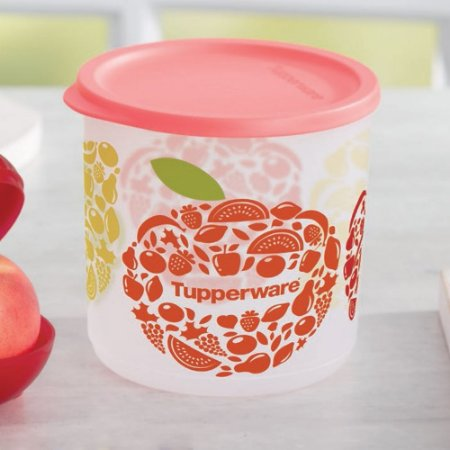 Tupperware Refri Line 1,1 litro Coral