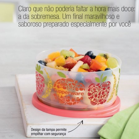 Tupperware Refri Line 530ml Coral