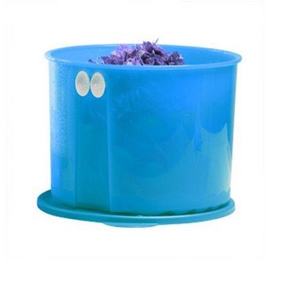 Tupperware Fresh Smart Redondo 4,7 litros Verde Água Céu Azul
