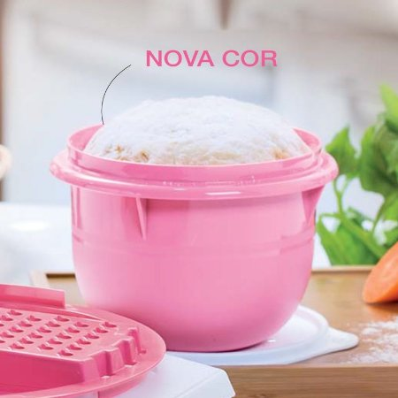 Tupperware Tigela Batedeira 1 litro Rosa