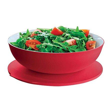 Tupperware Tigela Allegra 3,5 Litros Vermelha