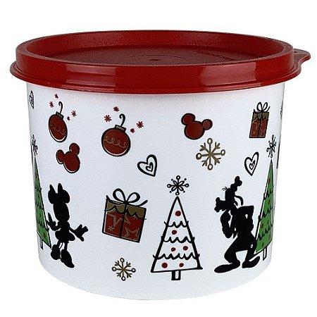 Tupperware Redondinha Natal Mickey 500ml