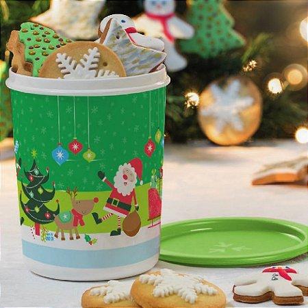 Tupperware Super Instantânea Natal 1,2 litros nº1 Verde