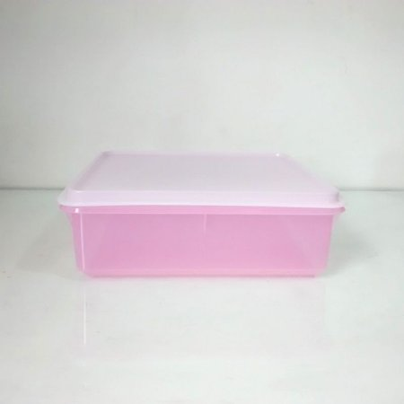Tupperware Caixa Versátil 2,5 Litros Rosa bebê