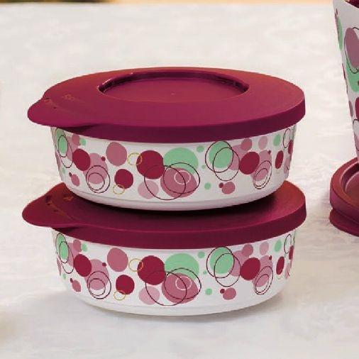Tupperware Tigela Ilúmina Marsala 350 ml 2 peças