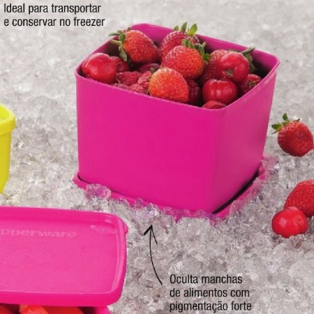 Tupperware Jeitoso Pink 900ml