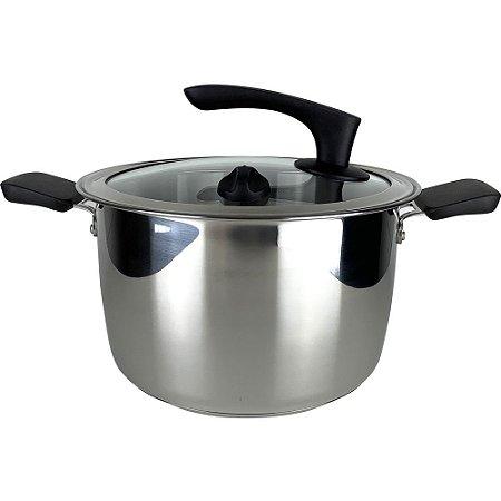 Tupperware Panela Inox Caçarola Funda Inspire Chef Series 7 litros