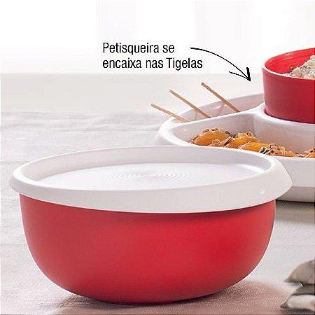 Tupperware Tigela Toque Mágico 550ml Vermelho