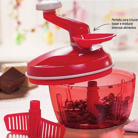 Tupperware Quick Chef 1,3 litro Vermelho