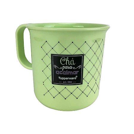 Tupperware Caneca Chá Bistrô 350ml Verde
