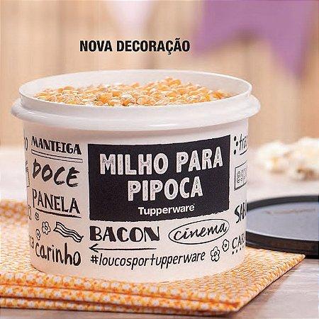 Tupperware Milho Pipoca PB Fun 1 kg Preto e Branco
