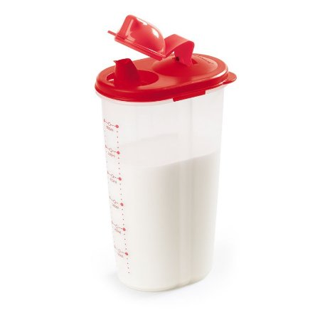 Tupperware Quick Dispenser 600ml Vermelho