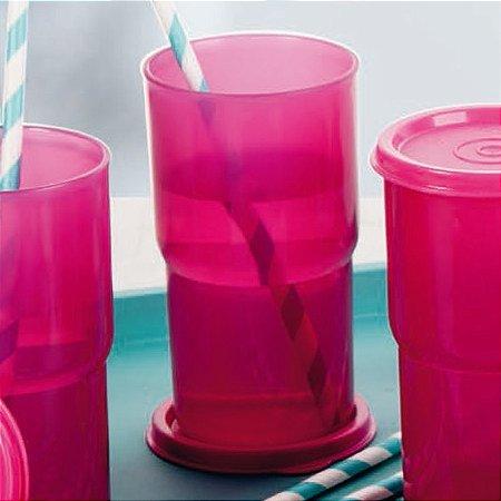 Tupperware Copo Colors 355ml Rosa